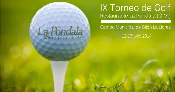 torneo de golf La Pondala IX