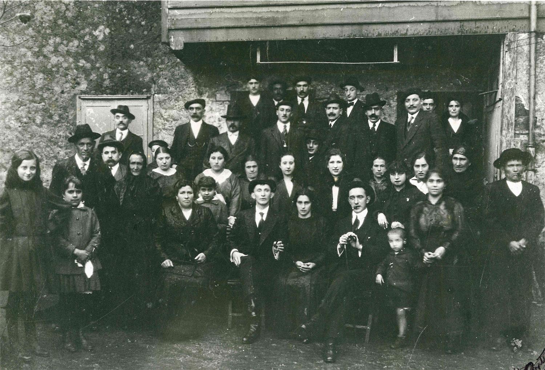Boda de 1916 en La Pondala