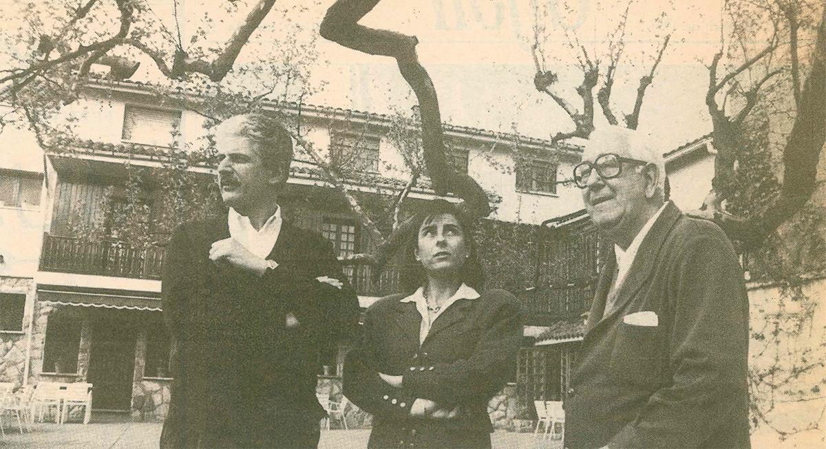 Roberto Riginelli, María Jesús y José Luis Caso