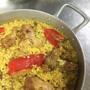 arroz con pollo La Pondala