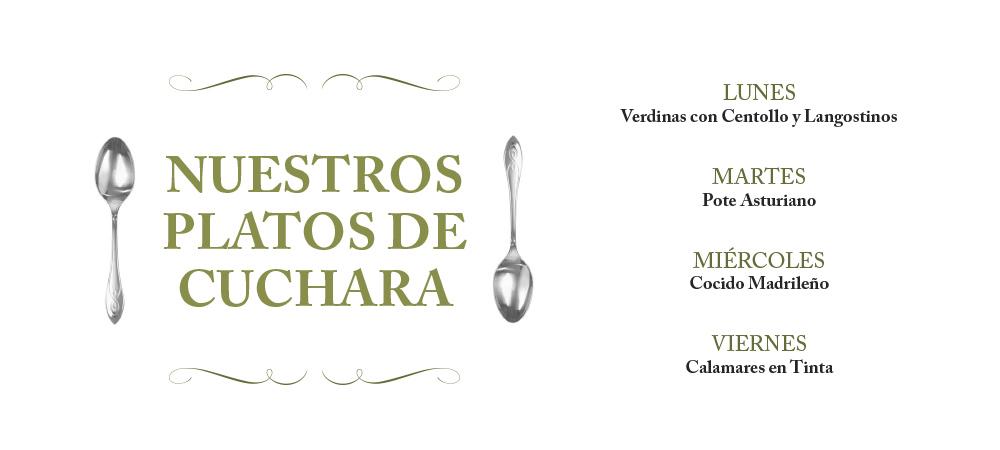 Platos de cuchara La Pondala