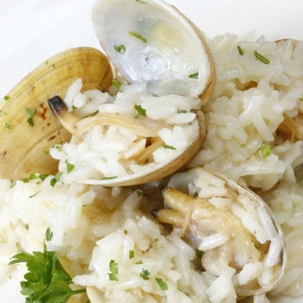 arroz con almejas