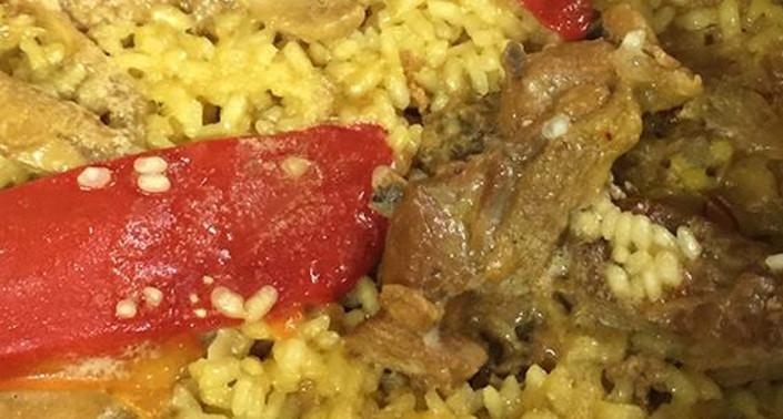 donde comer arroz con pollo en gijon