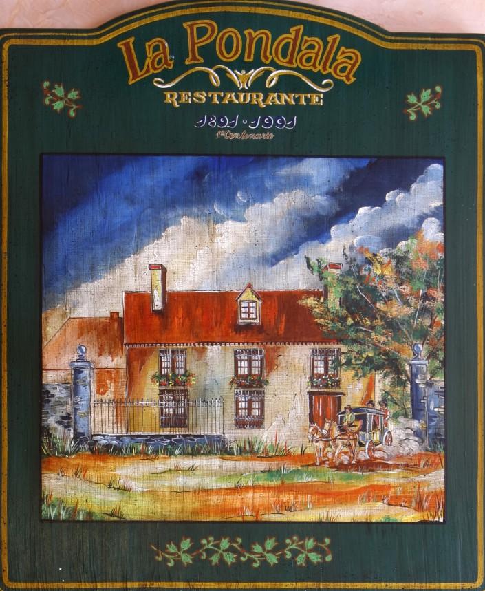 La Pondala restaurante año 1891, 1991