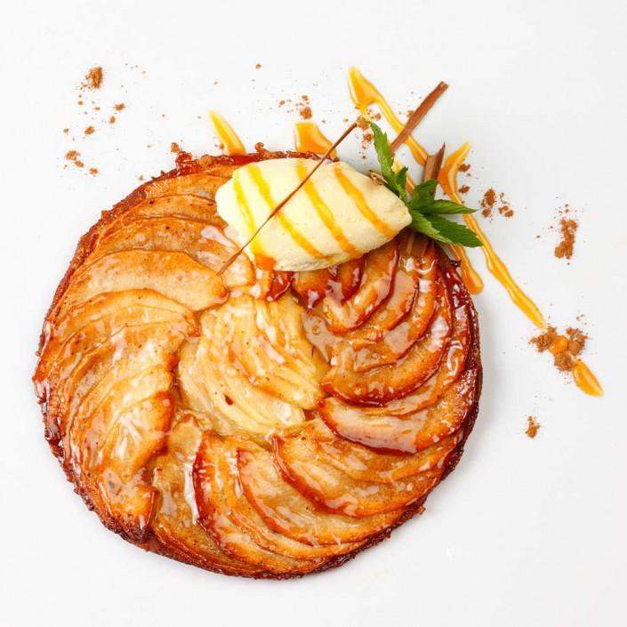 tarta de manzana La Pondala