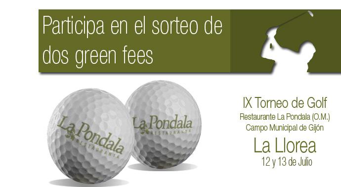 concurso de golf