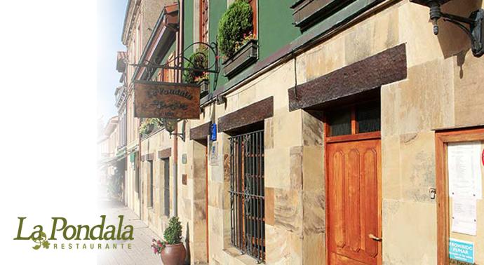 La Pondala, fachada