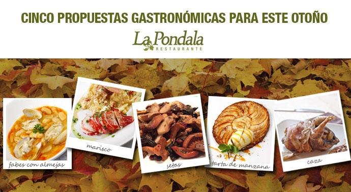 propuestas gastronómicas de otoño