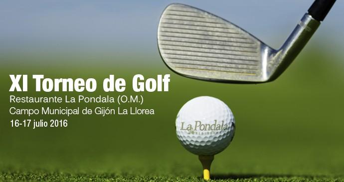 Torneo de Golf La Pondala XI