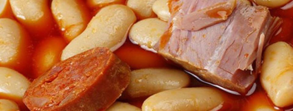 comer fabada en Gijón